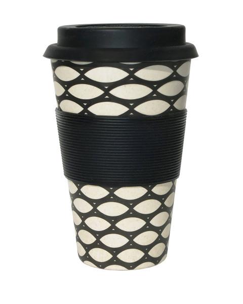 To Go Becher Basket Case + Deckel mit Tropfschutz
