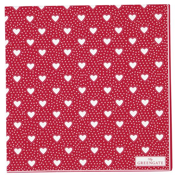 Große Papierservietten Penny Red von GreenGate
