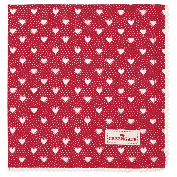 Stoffserviette Penny Red von GreenGate