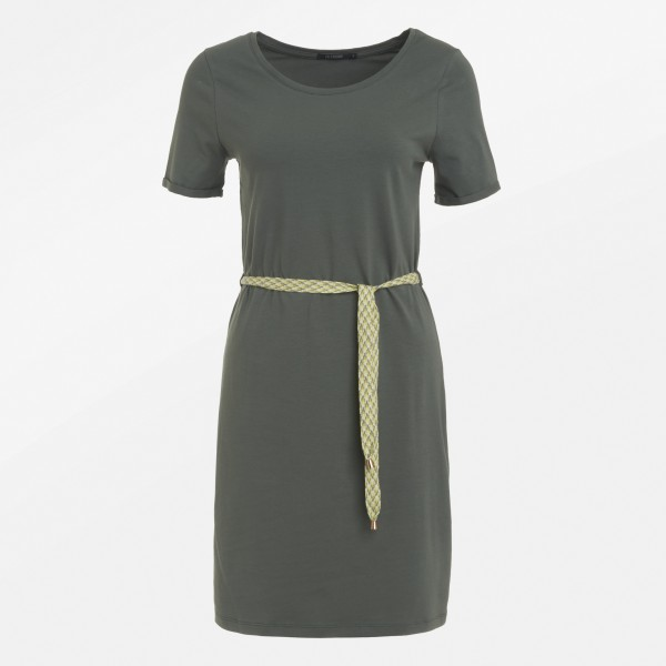 Kleid Soft Basic Olive S von Greenbomb
