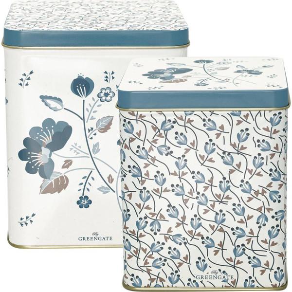 GreenGate Aufbewahrungsbox Mozy White 2er Set