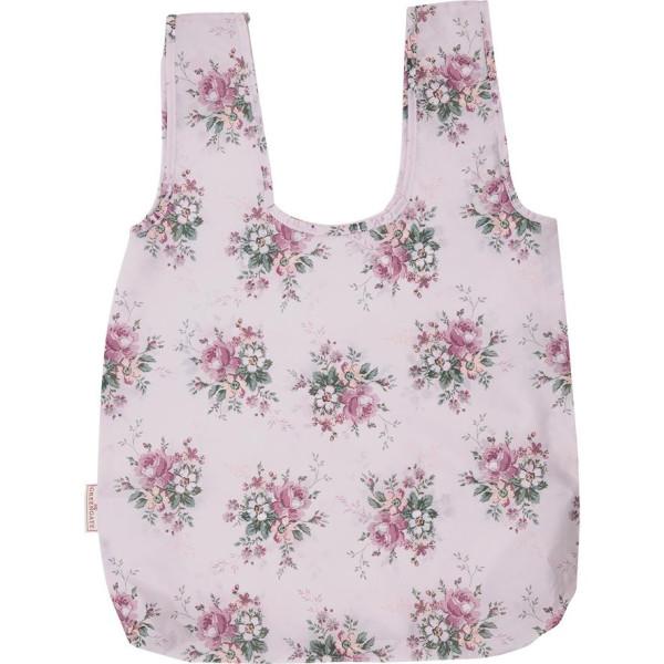 GreenGate Faltbare Einkaufstasche Marie Dusty Rose