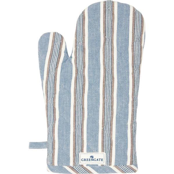 GreenGate Grillhandschuh Ivah Stripe Blue
