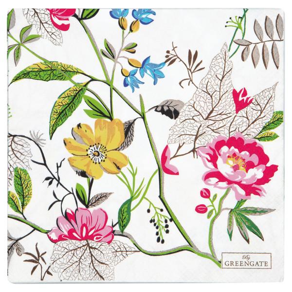 Große Papierservietten Ellen White von GreenGate