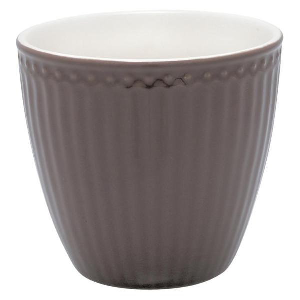 GreenGate Latte Cup Alice Dark Chocolate