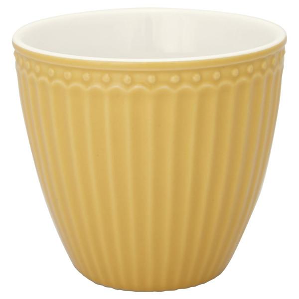 Latte Cup Alice Honey Mustard von GreenGate