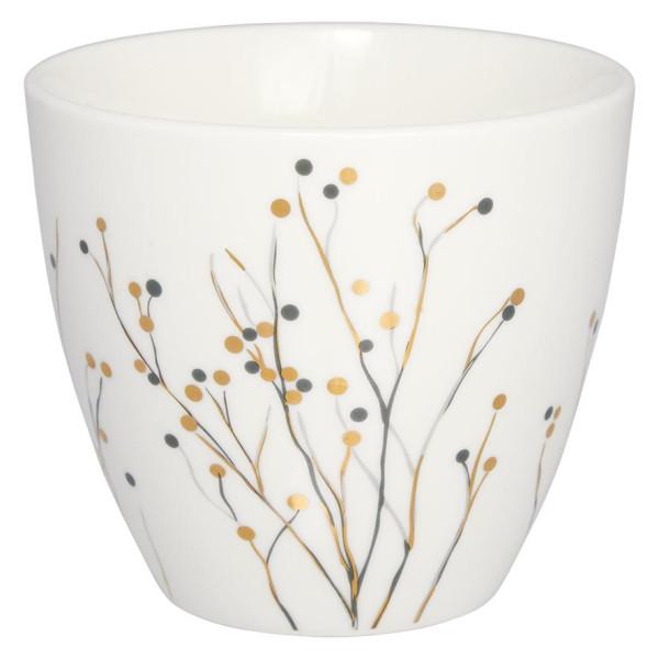 GreenGate Latte Cup Antonia White
