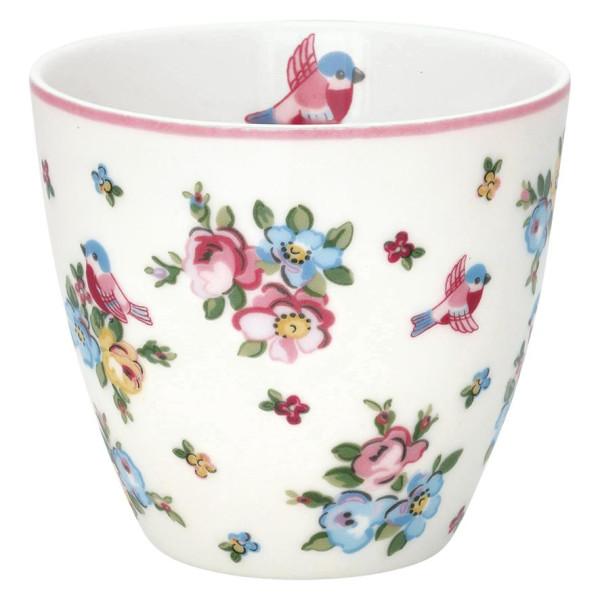 GreenGate Latte Cup Ellie White