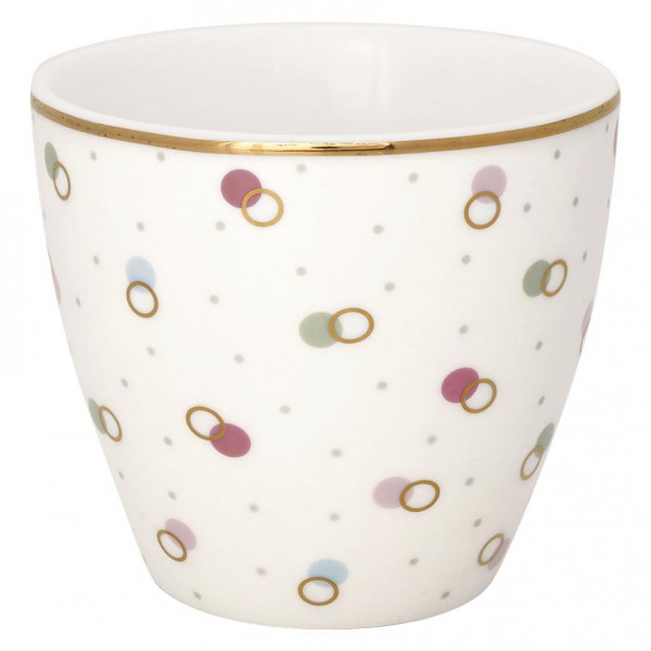 GreenGate Latte Cup Kylie White