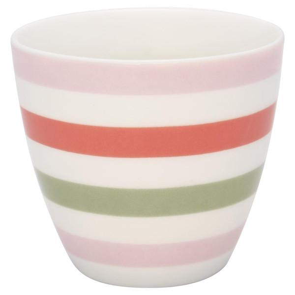 GreenGate Latte Cup Valentina White