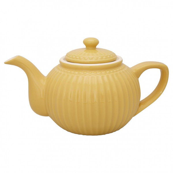 GreenGate Teekanne Alice Honey Mustard