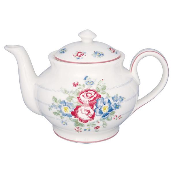 GreenGate Teekanne Henrietta White