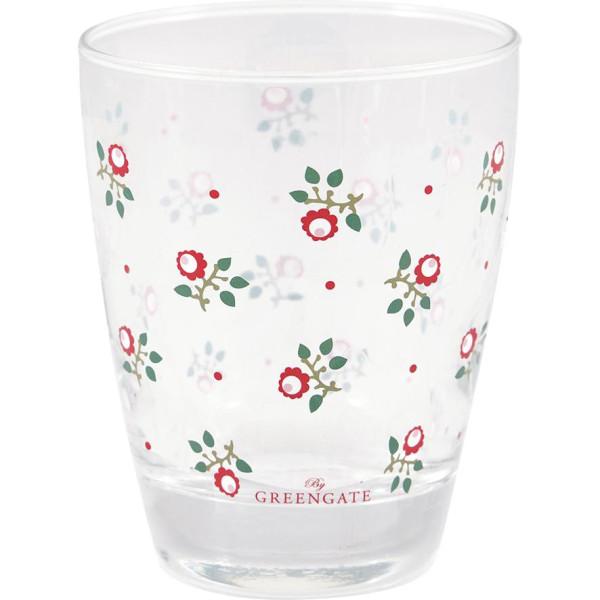 GreenGate Wasserglas Abi Petit White