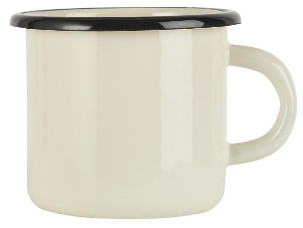 Emaille Becher Butter Cream von IB Laursen