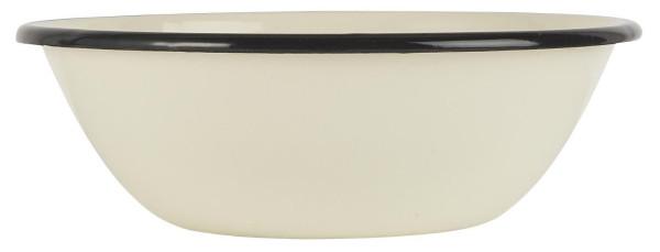 Emaille Schale Butter Cream von IB Laursen