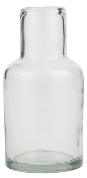 Glas Vase mit langem Hals von IB Laursen