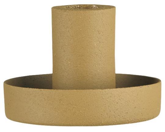 IB Laursen Kerzenhalter für dünne Kerzen Mustard