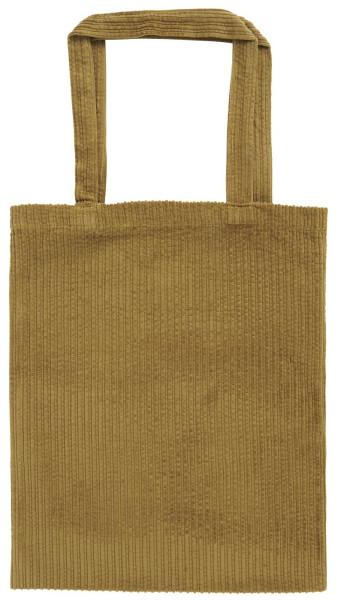 Tasche Velour Mustard von IB Laursen