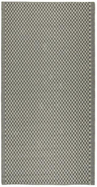 Teppich gemustert Recyclingplastik Grau von IB Laursen