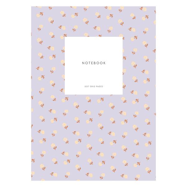 Notizbuch KARTOTEK Small Flower Lavender S von Kartotek