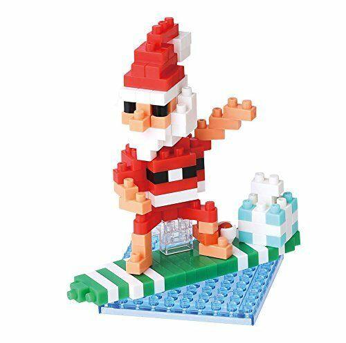 Mini Bausteine Nanoblock Surfing Santa Claus von Nanoblock