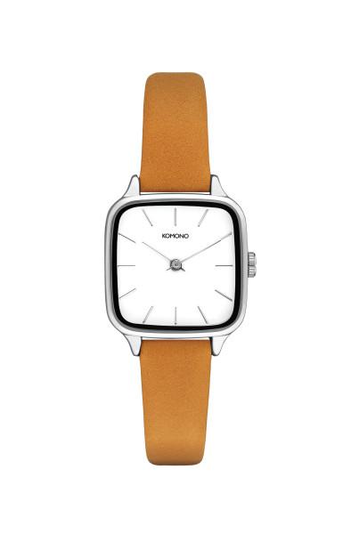 Armbanduhr Kate Natural Silber von Komono