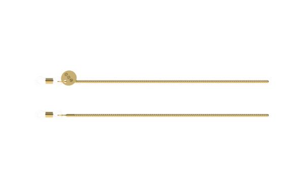 Brillenband Boa Gold von Komono