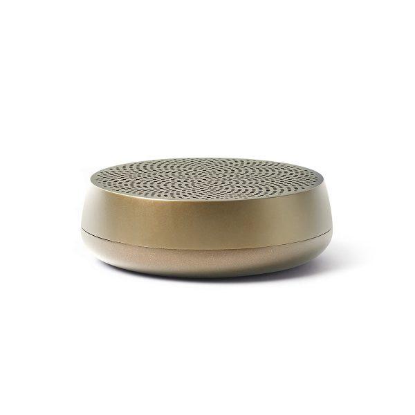 Bluetooth Lautsprecher MINO L Soft Gold von Lexon