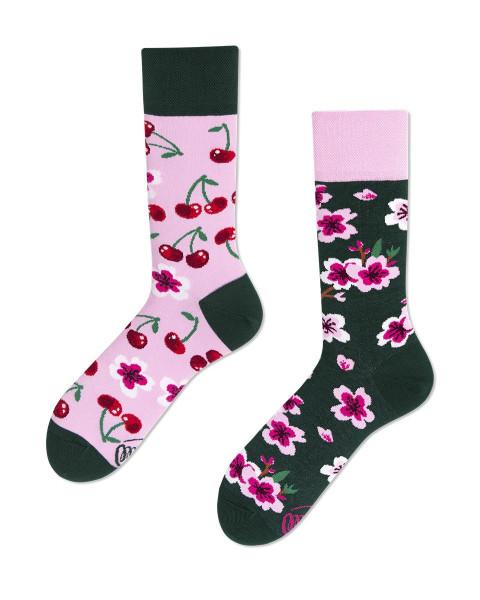 Many Mornings Socken Cherry Blossom 39-42