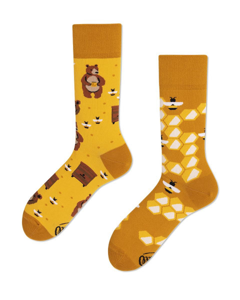 Socken Honey Bear 35-38 von Many Mornings