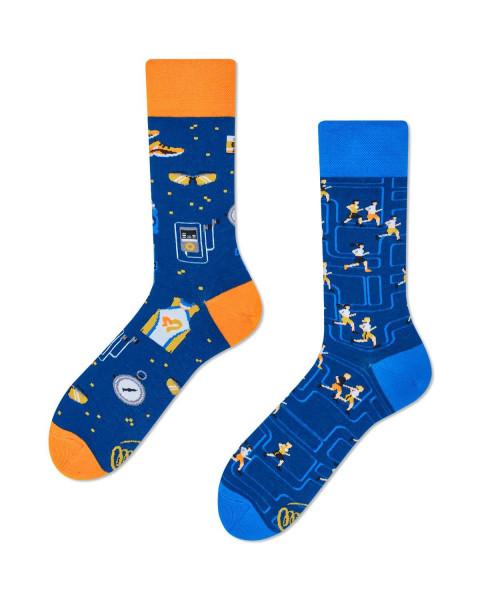 Many Mornings Socken Just Run 43-46