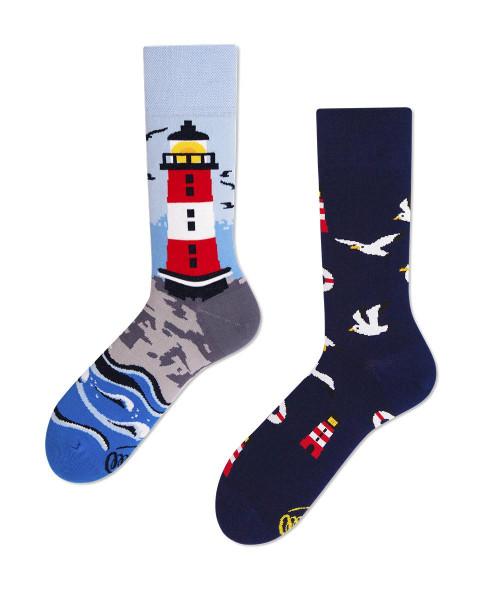Many Mornings Socken Nordic Lighthouse 43-46