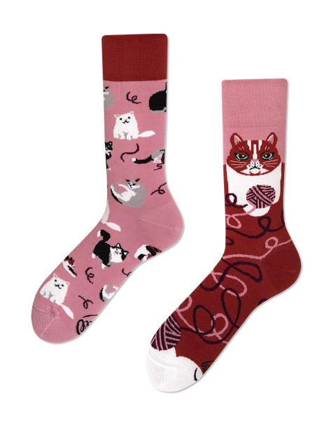 Socken Playful Cat 35-38 von Many Mornings