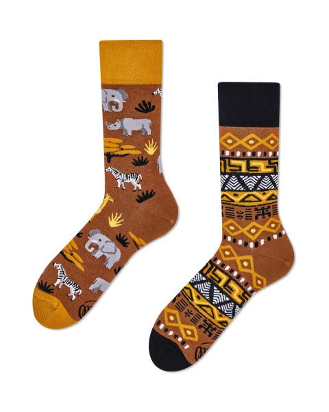 Many Mornings Socken Safari Trip 39-42