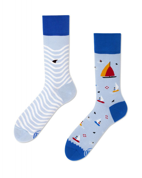 Socken Surf and Sail 35-38 von Many Mornings