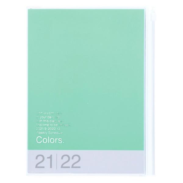 MARKS TOKYO EDGE A5 Kalender 2022 COLORS Mint