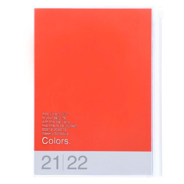 MARKS TOKYO EDGE A5 Kalender 2022 COLORS Orange
