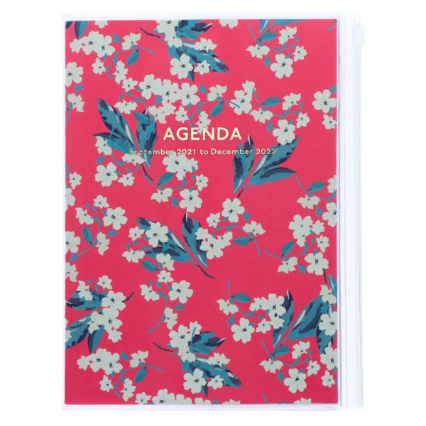 MARKS TOKYO EDGE A5 Kalender 2022 Flower Pink
