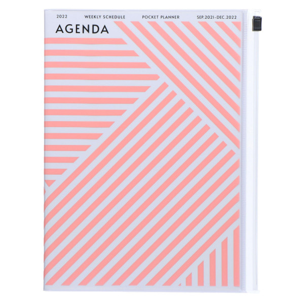 MARKS TOKYO EDGE A5 Kalender 2022 Geometric Pink