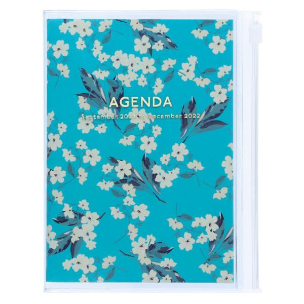 A6 Kalender 2022 Flower Türkis von MARKS TOKYO EDGE