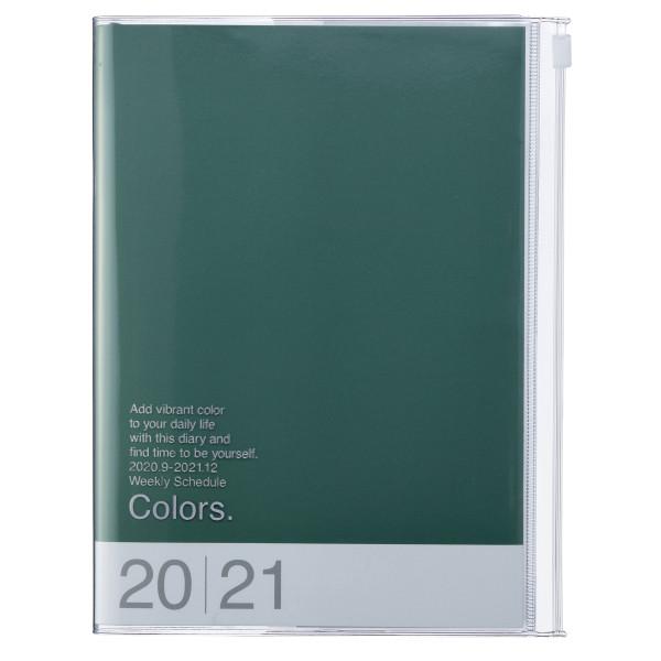 A5 Kalender 2021 COLORS Green von MARK'S TOKYO EDGE