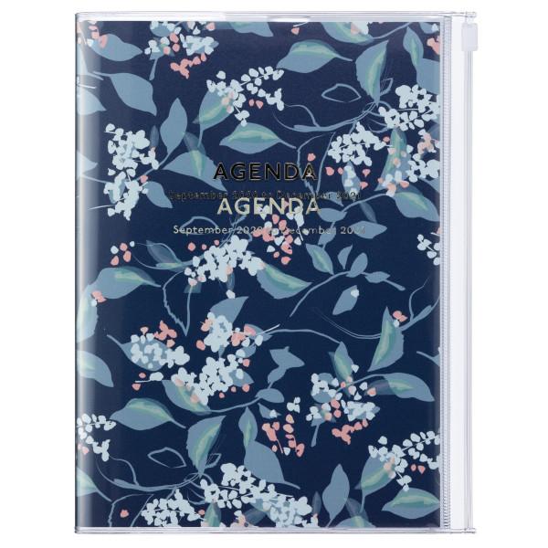 A5 Kalender 2021 Flower, Navy von MARK'S TOKYO EDGE