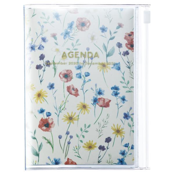 A6 Kalender 2021 Flower, Ivory von MARK'S TOKYO EDGE