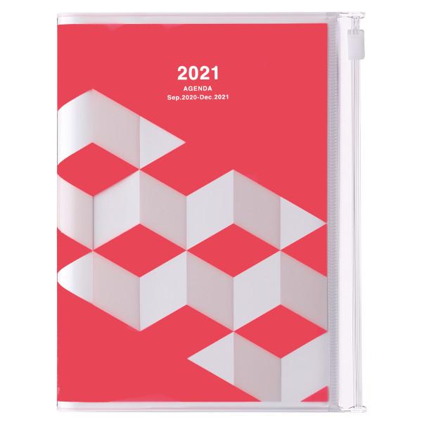 A6 Kalender 2021 Geometric, Pink von MARKS TOKYO EDGE