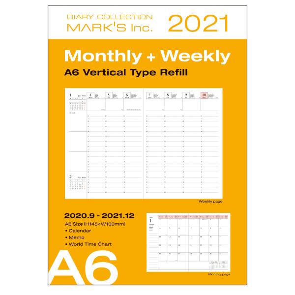 A6 Kalender 2021 Nachfüllheft von MARK'S TOKYO EDGE
