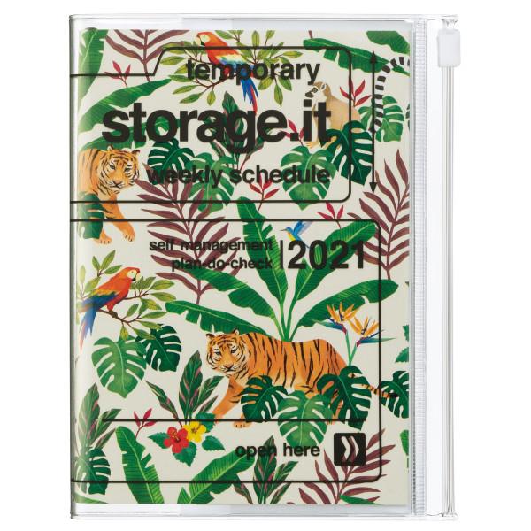 A6 Kalender 2021 STORAGE IT, Jungle Beige von MARK'S TOKYO EDGE