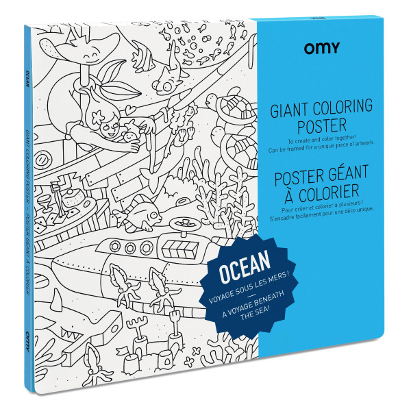 Großes Poster Ocean von Omy