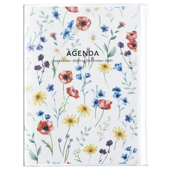 B6 Kalender 2021 Diary Flower Ivory von MARKS TOKYO EDGE