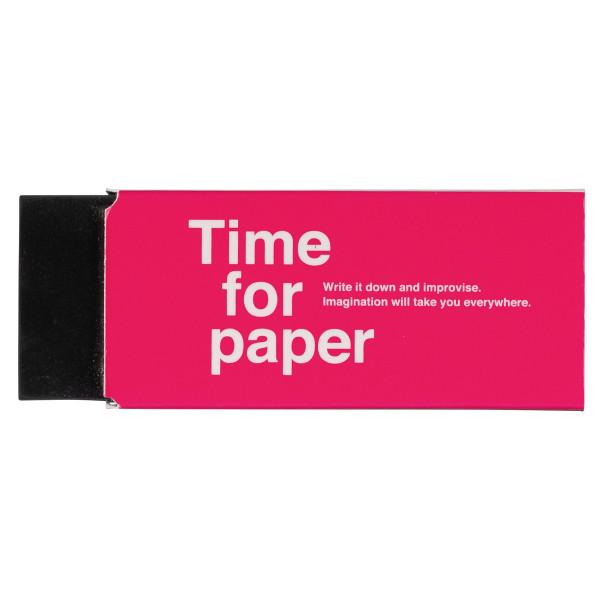Radiergummi Time for Paper Pink von MARKS TOKYO EDGE