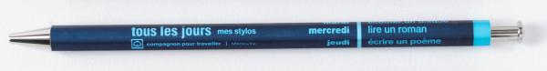 Kugelschreiber DAYS Navy von MARK'S TOKYO EDGE